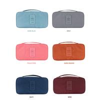 2014 New Underwear Storage Bag Bras&Panties Organizer bag Storage Case Waterproof Travel Portable Storage Box & Bra Case