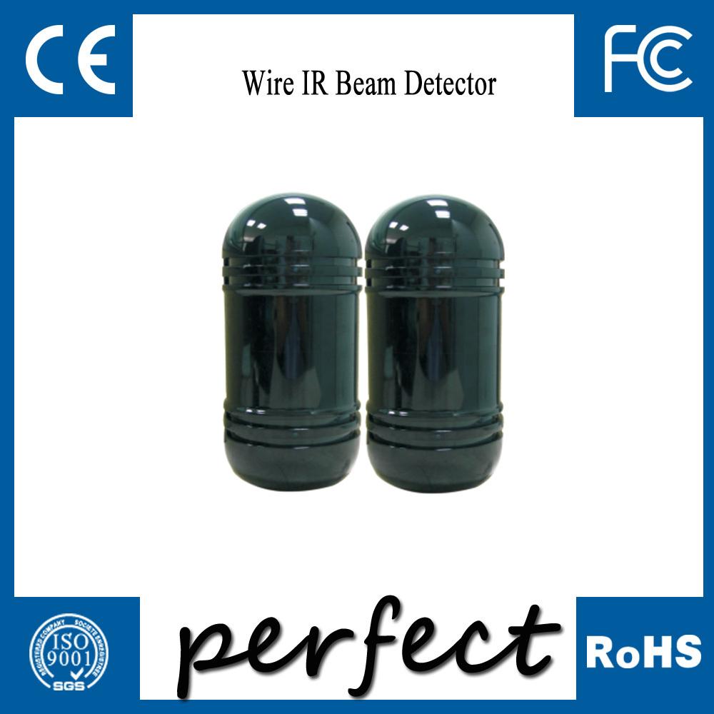 Проводной 100 м сигнализация двухлучевой фотоэлектрические инфракрасный из светодиодов детектор вскрытия выход тревоги
