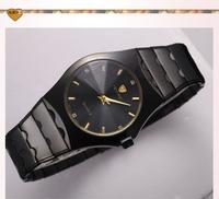 Simple Designer Lovers Full Steel Wristwatch Business Style Analog Dress Watches Quartz Calendar Clock Waterproof Relojes NW1026