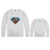 2014 Diamond Supply Co hoodies for men hip hop  punk  box diamond  hooded Sweatshirt jackets hot sale hoodies