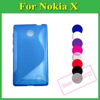 1 X S Line Soft TPU Case Cover For Nokia X Dual SIM X+ Plus A110
