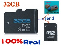 Hight speed Sd Cards 8gb 16gb 32gb real capacity micro sd tf  memory card  free usb reader for Mp4 phone camera Free shipping