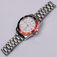 Brand Designer Men Business Style Dress Watches Quartz Full Steel Calendar Wristwatch 30M Waterproof Relojes 4 Colors NW690