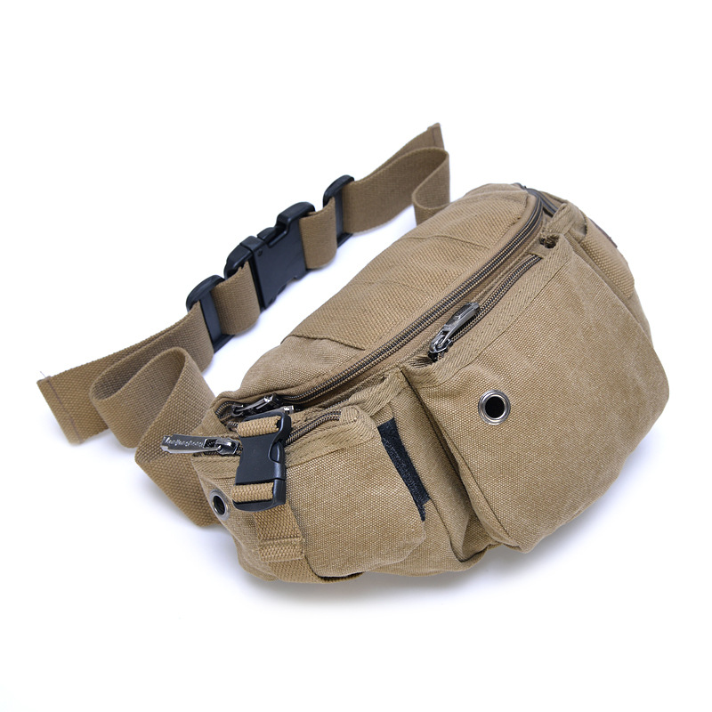 New 2015 Fashion Belt bags High Quality Individuality Casual Fanny pack Women and men Canvas Waist Bag Phone waistpack(China (Mainland))