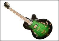 half handmade and plywood electric guitar