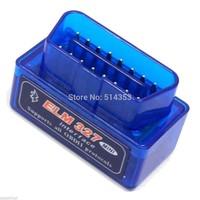Free shipping 2014 Super MINI ELM327 Bluetooth OBD/OBD2 Scanner ELM 327 Multi-Language 10pcs/Lots