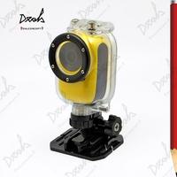 WiFi Sports Action Camera M600 1920*1080P 30M Waterproof Bike Moto Helmet DV 10Pcs/Lot DHL Free Shipping