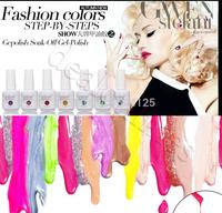 5PCS/lot 15ml DIY 2014 Color UV Gel led Polish Soak-off Nail Gel gelishgel Fashion for Nail Art 177 colors
