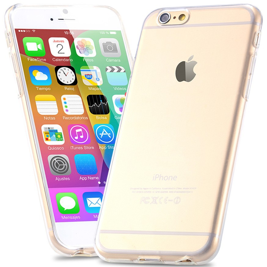 For iPhone 6 Case 0.3mm Super Slim TPU Gel Silicon Case For Apple iPhone 6 4.7 inch Crystal Clear Soft Back Cover For iPhone6(China (Mainland))