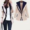 2014 Spring New Fashion Women's Sexy Black One Button Small Suit Jacket Women Coat Blazer Black, Beige S-XXXXL