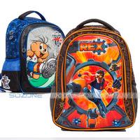 Cartoon superman school backpack for teenagers boys,mahatma kids children's bagpack boy school bags,school book bag for student