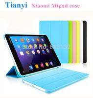 "Xiaomi Mi Pad Leather (PU)  Case Cover for Xiaomi 7.9"" Quad cord tablet PC Cases Colorful Xiaomi MiPad Case"