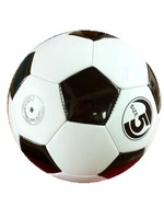 soccer ball, SIZE 5#, promotion gifts,  color in white/black