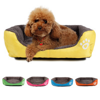 Free Shipping  Pet Dog Bed Warming Dog House Soft Material Dog Cat Kennel Warm Winter for Dog Cat Pet Products Different Colors