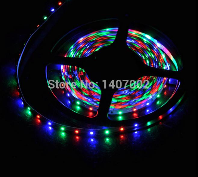 Christmas Outdoor 12v led light strip rgb 15M 300led 3528 led strip waterproof ribbon led string rope for night gadern lighting(China (Mainland))