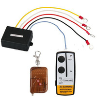 50ft 12V 12 Volt Wireless Remote Control Set for Truck  ATV Winch free shipping