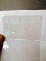 NJ holographic stickers
