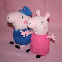 New Peppa Pig Stuffed Plush Toys 2PCS/SET Peppa Pig Family Grandpa Granny Brinquedos Pepa Pig Plush Dolls Party Gift Baby Toys