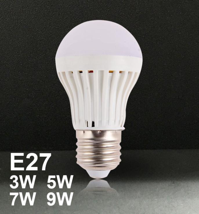 YL400 Special led bulb 3W5W7W9WE27 screw white warm white LED energy saving lamp bulb 3W spike Free shipping(China (Mainland))