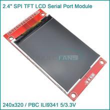 "2.4"" 240x320 SPI TFT LCD Serial Port Module 3.3V PBC Adapter Micro SD ILI9341(China (Mainland))"