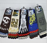 2014 Fashion casual socks Mens Five fingers Socks Winter outdoor sports socks  men 2014 6pie=3pair/lot