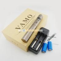 Variable voltage ecigator vamo v5 starter kit with LCD display and 18650/18350 extend battery vamo v5 electronic cigarette mod
