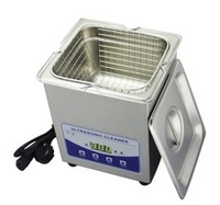 Free shipping JP-010T degassing ultrasonic cleaner 2l,80W,110/220V,CE&RoHS,1 year warranty