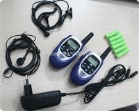 2014 new mini size portable 2pcs pair walkie talkie radios pmr/frs walk talk radio communicator 8ch/22ch w/ 99 code +accessories
