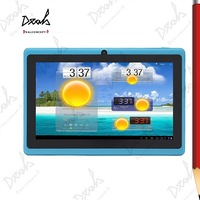 7 inch Dual Core Android Tablet PC Q88 Pro Allwinner A23 Dual Camera 512M 4GB WIFI OTG Capacitive Screen With Bluetooth & Wifi