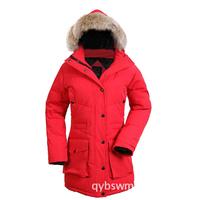 Goose Jacket Women Down Parka Woman Winter Coat Warm Fashion Hooded Jacket Ladies Brand New Women's Outwear Free Shipping
