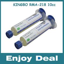 FREE shipping ! 5pcs/lot  KINGBO RMA-218  10CC Flux Paste/BGA flux paste(China (Mainland))