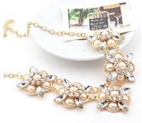Top Quality New 2013 Statement Jewelry Vintage Bead Necklace False Collar Necklace Long Black Pendant Necklaces & Pendants!#917