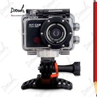 Go Pro Hero 3 Style Full HD 1080P WIFI Sports Camera G386 Waterproof Sport Helmet Camcorder Diving Camera 5Pcs DHL Free Shipping