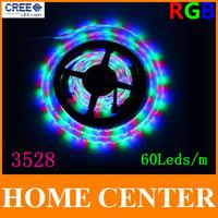 5M 3528 RGB 300Leds Led LStrips light  60Leds/m  For 24key 44key