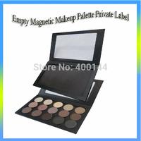 Free Shipping!OEM Empty magnetic palette,magnetic makeup palette,contour palette wholesale--Lager size lipstick palette