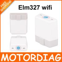 White Super MINI ELM327 Bluetooth 2.0 Switch ELM327 V1.5 OBD 2 / OBD2 Auto Scanner ELM 327