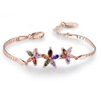 Retail - Free Shipping ROXI Gift Classic bangle,gold bracelet,pulseiras