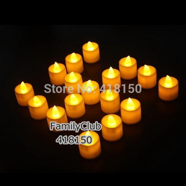 12pcs Flickering Flicker Flameless LED Tea Light Candles Light Wedding Birthday Party Christmas Decoration(China (Mainland))