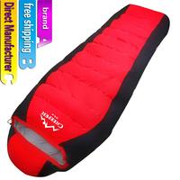 sleeping bag/down-filled sleeping bag/Camping sleeping bag/Direct Manufacturer/White duck down filled sleeping bag/free shipping