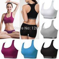 Professional Sports Bra Wireless Shockproof Running Vest Design Young Girl Bra Yoga Push Up Tank Fitness Running Sports Bra