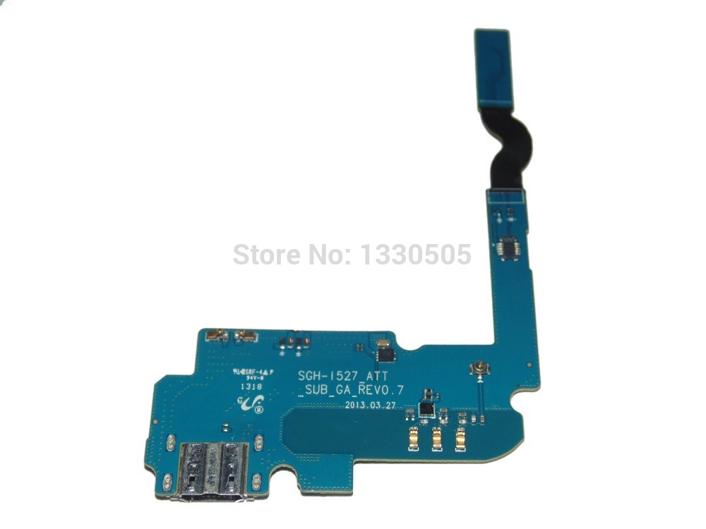 Flex Cable USB Dock Charging Port for Samsung Galaxy Mega 6.3 i527 Free Shipping(China (Mainland))