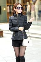Free shipping 2014 new women's winter coat down cotton short paragraph Korean version of Slim lady winter coat jacket