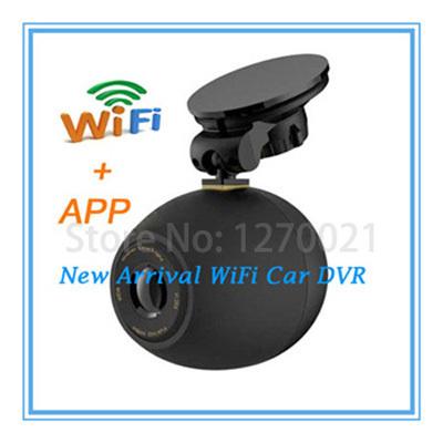 New Arrival Original Wireless Car Camera Full HD Wi-Fi App Dash Cam Car DVRs 1080P Night Vision Car Video Recorder Registrator(China (Mainland))