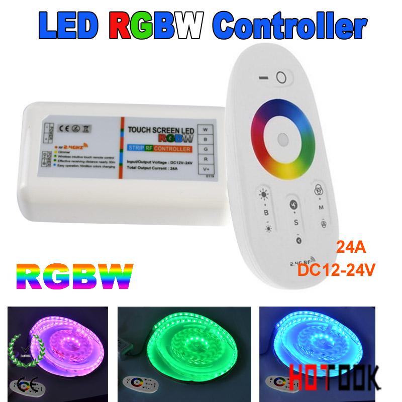 RGB контролер OEM pannel RGBW 12v/24v 24A 2.4g 216 LED RGB PN-RCC30