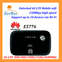 network worldwide pocket wifi router mobile hotspot unlocked HUAWEI E5776S-32 4G LTE router 150Mbps 4G mobile wifi with SIM card