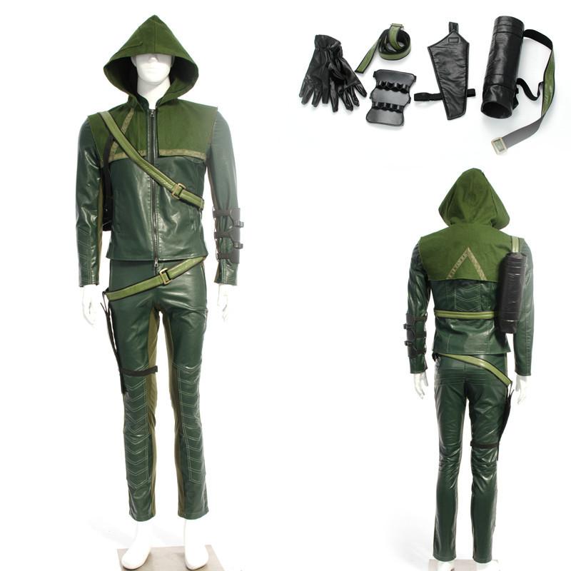 Green Arrow Costume Arrow Oliver Queen Green Arrow