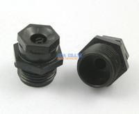 """10 Pieces Garden Lawn Plastic 1/2"""" PT Thread Adjustable Water Spray Nozzle Connector"""