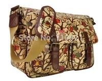 Free Shipping Retro Women's Owl Printed Shoulder Messenger Bag Crossbody Satchel Bag Fashion School Bag Travel Bag