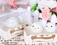 free shipping wholesale 10sets=20pcs /lot  personalized wedding favors and gifts ceramic love bird  salt and pepper shaker