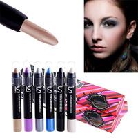 Pro Waterproof Eyeshadow Pencil Pen Color Focus Eye Shadow Cream Makeup Crayon Free shipping & Drop shipping